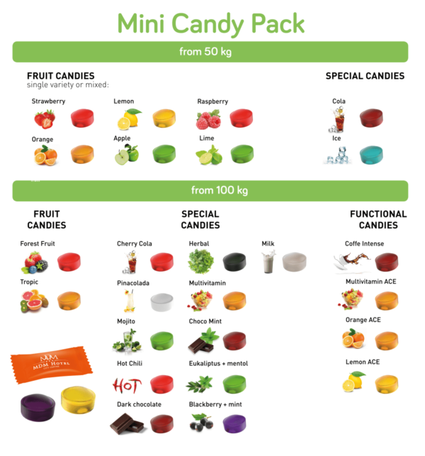 mini candy pack