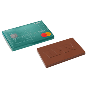 chocolate credit card