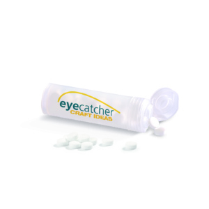 eyecatcher mint tube pills
