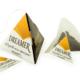 tea in a pyramid box
