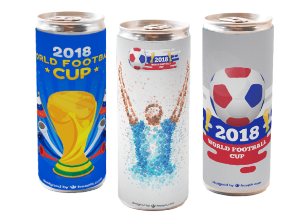 energy drinks in can