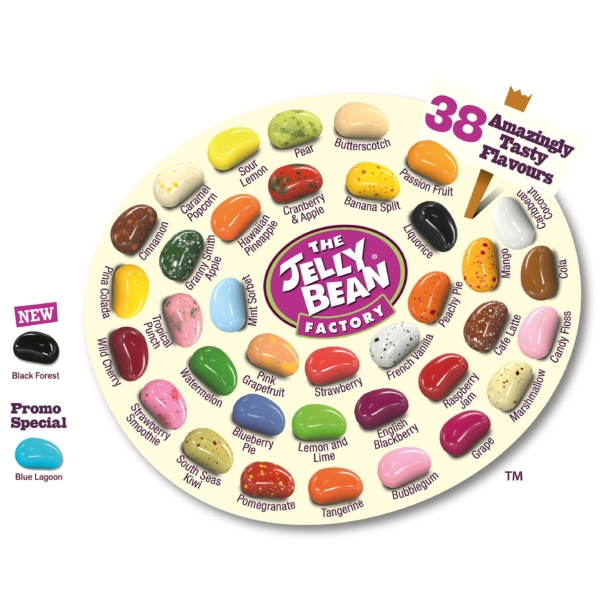 large jelly bean bag