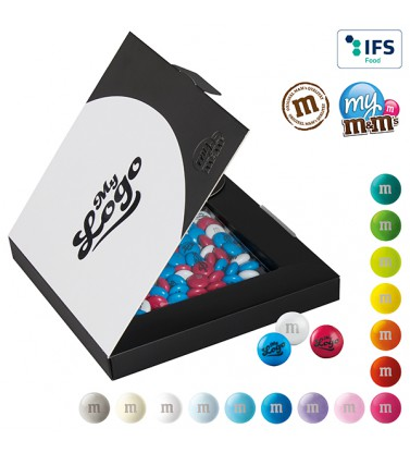 m&m's promotional premium box