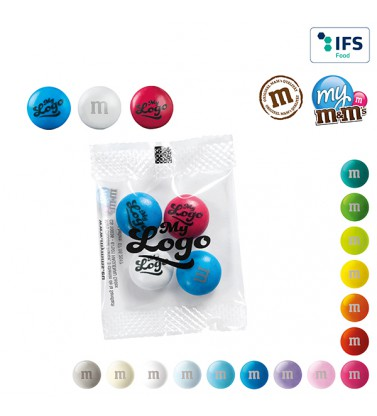 m&m's mini bag