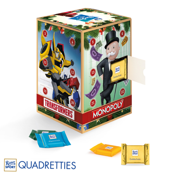 advent calendar choco in a box
