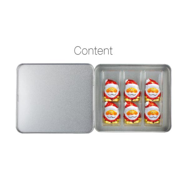 santa chocolate in premium box