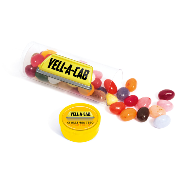jelly bean in a tube